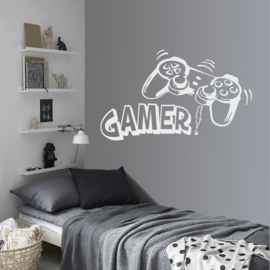 Muursticker Game Controller