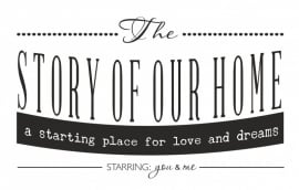 The story of our Home