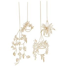 Muursticker Hangende planten