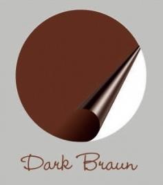 Kleurstaal Dark Braun