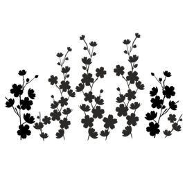 Muursticker Flowerlove