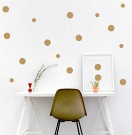 Muursticker Polka dots