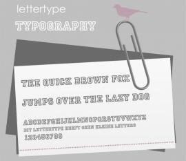 Lettertype Typography