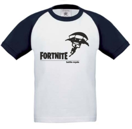 Kids Baseball T-shirt Navy Blue FORTNITE