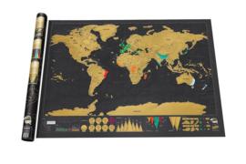 Wereld Scratch Map