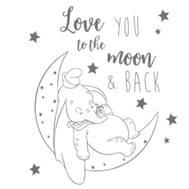 Love to the Moon... olifant