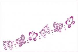 Vlinders    in diverse kleuren te verkrijgen