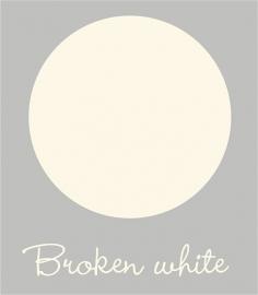 Kleurstaal Broken White