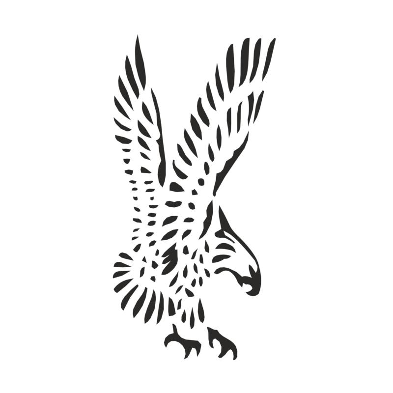 Muursticker Eagle