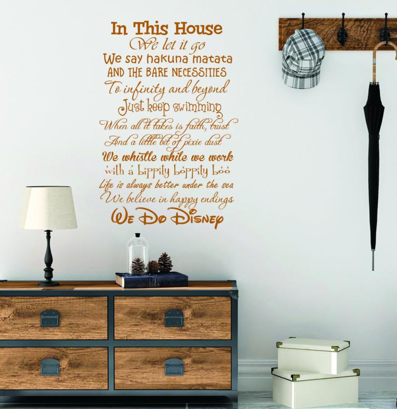 Muurstickers Disney Babykamer.Muursticker We Do Disney Muurstickers Tekst Muurstickers