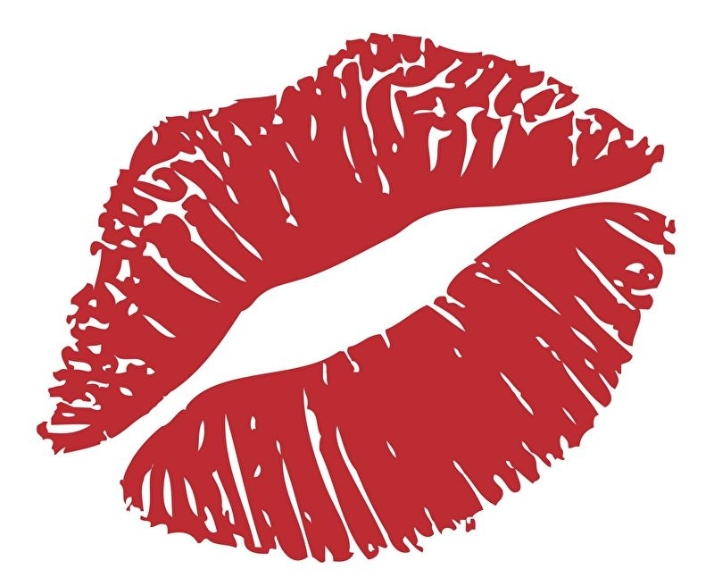 Muursticker Kiss