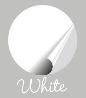 Kleurstaal White Mat