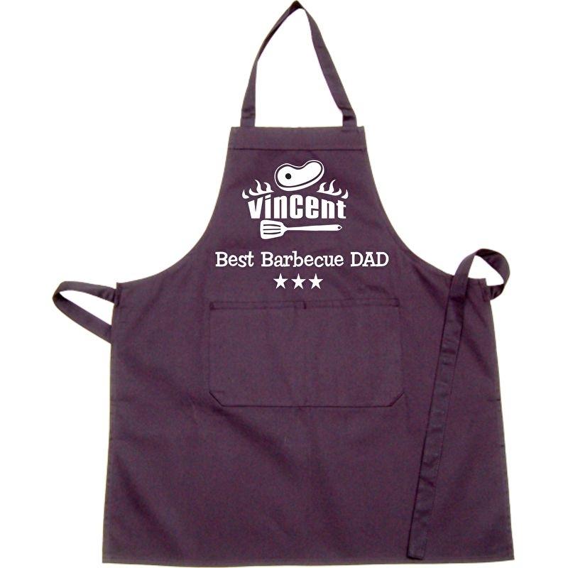 Keukenshort BBQ met eigen naam
