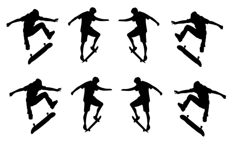 Stickersetje Skaters