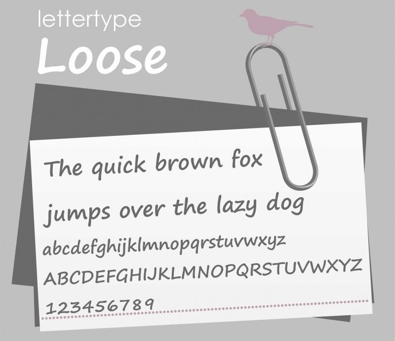 Lettertype Loos