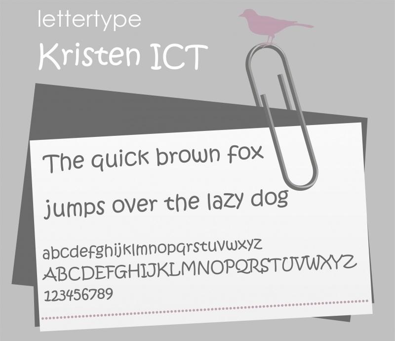 Lettertype Kristen ITC
