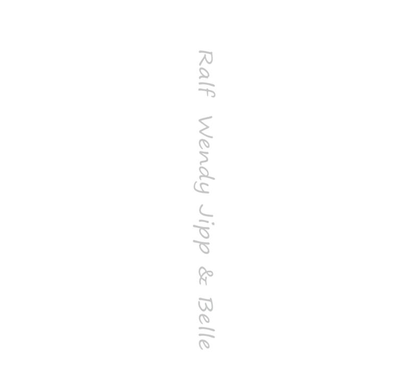 Naamsticker Lettertype Loose 200 cm x 15 cm