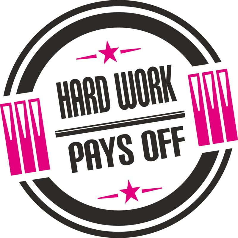 Sticker Hard work...
