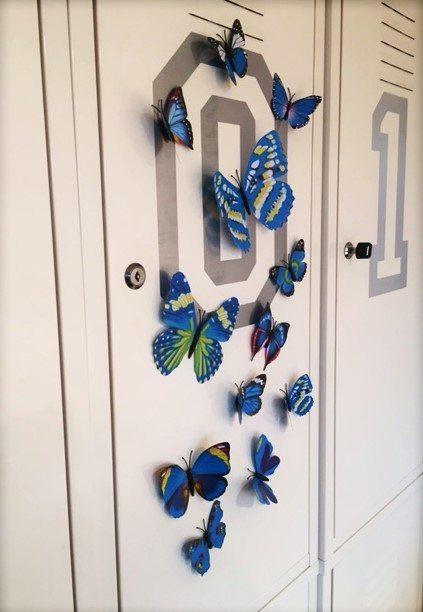 3D vlinders- decoratievlinders
