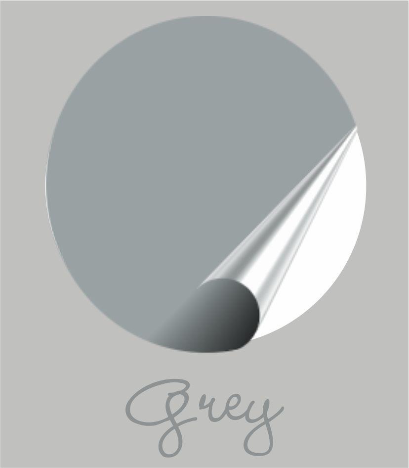 Muursticker grey
