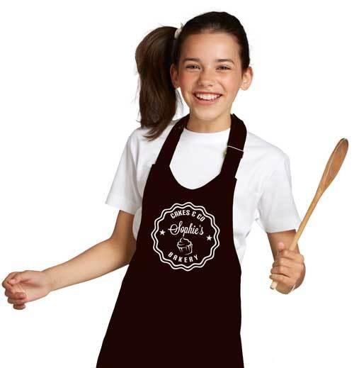 Kinder Keukenschort met naam