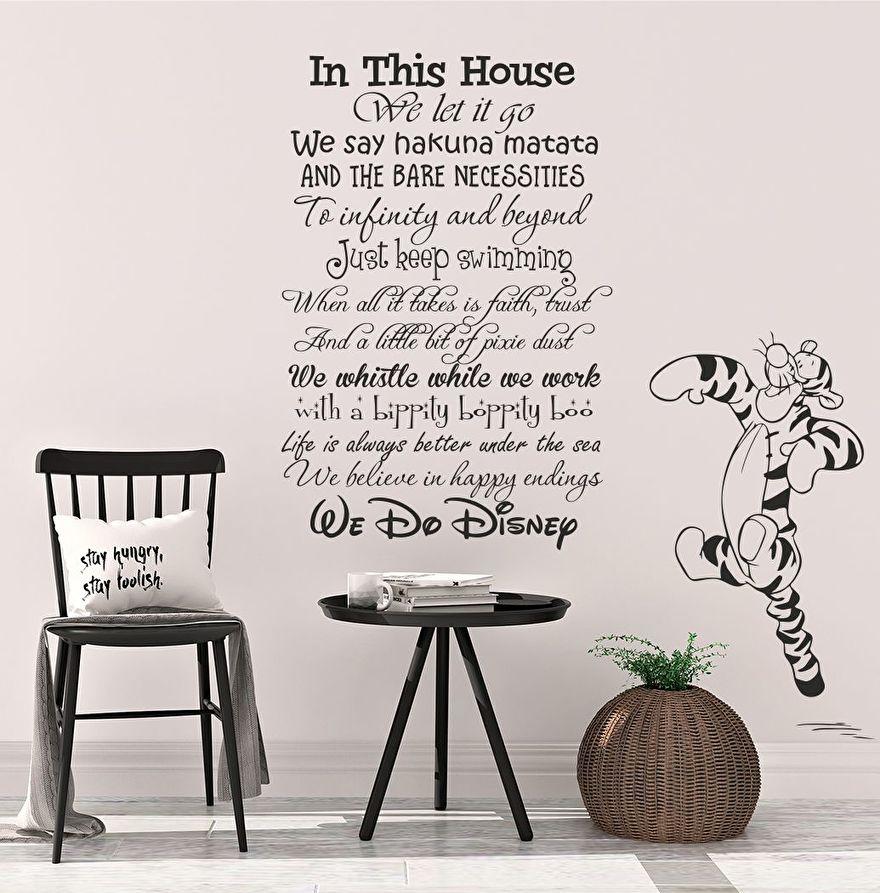 Muursticker Walt Disney