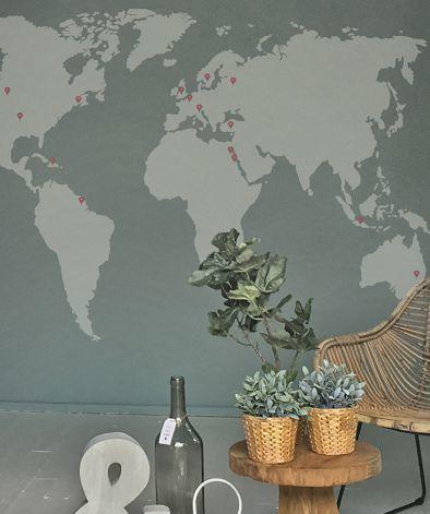 Muursticker-wereldkaar-gratis-marker