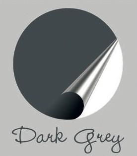 Muursticker donkergrijs