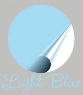 Muursticker blauw