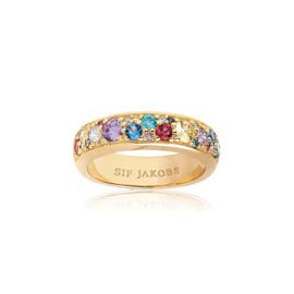 Sif Jacobs SJ-R1062-XCZ(YG) Ring