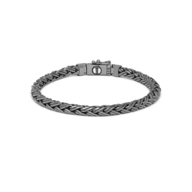Buddha to Buddha armband Katja xs Black rhodium J170BR SS