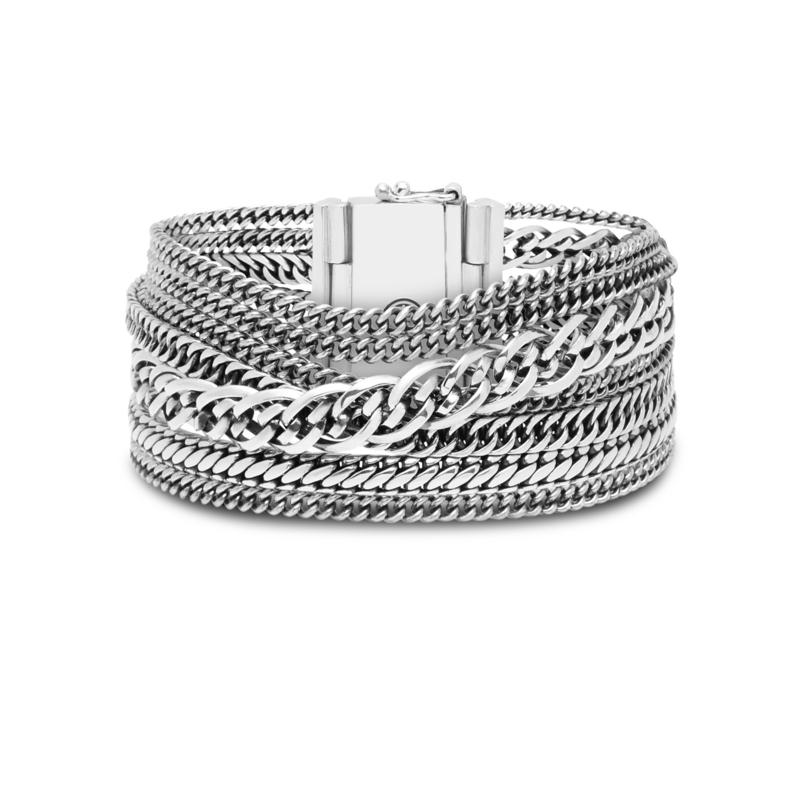 Buddha to Buddha armband Multi chain Nathalie 124