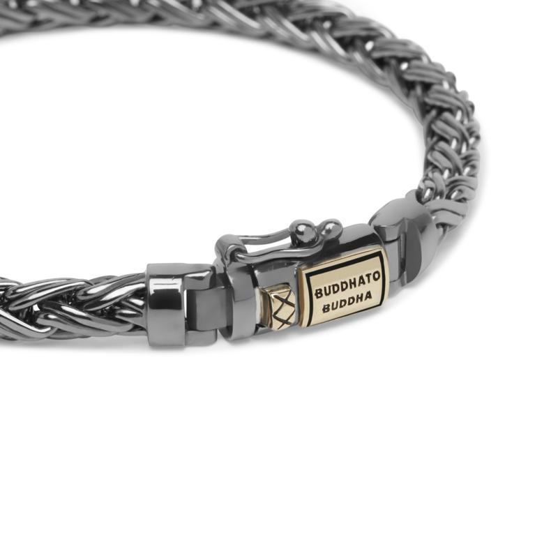 Buddha to Buddha armband Katja xs Black rhodium J170BR SG