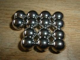 Mooie zilverkleurige magneet sluitingen