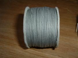 Waxkoord grijs 0,5 mm.
