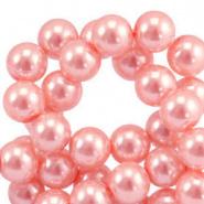 50 stuks Top quality Glasparels 4mm Pink