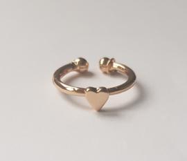 Must have ringen in goudkleur met hartje