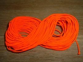 Elastiek draad in een mooie neon oranje kleur.