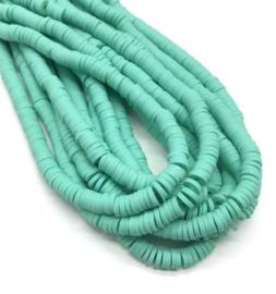 Katsuki kralen 6 mm oceaan groen per streng