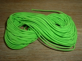 Elastiek draad in een mooie neon groene  kleur van 0.8 mm.