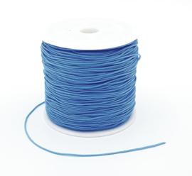 Macrame draad 0.8 mm. licht blauw per meter