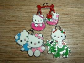 Leuke vrolijke Hello Kitty hangertjes