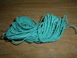 Elastiek draad in een mooie aquablauwe kleur 0.8 mm.
