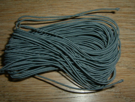 Elastiek draad in een mooie antraciet kleur van 0.8 mm.