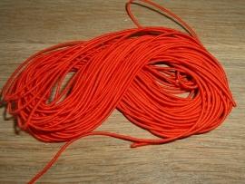 Elastiek draad in een mooie rode kleur van 0.8 mm.