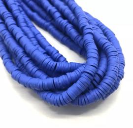 Katsuki kralen 6 mm donker blauw per streng