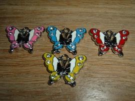 Superleuke hangertjes van een vlinder