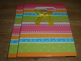 Mooie vrolijk gekleurde cadeautasjes