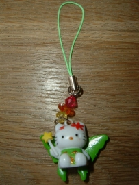Leuk mobiel hangertje van Hello Kitty