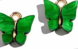 Bedel vlinder goud Groen
